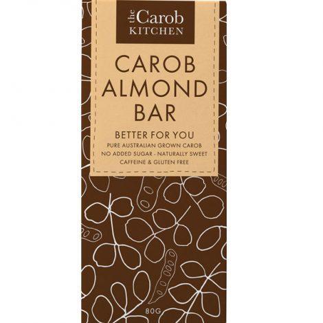 The Carob Kitchen - Carob Almond Bar (80g)