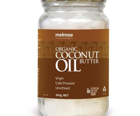 Coconut Oil - Organic; Melrose (300)