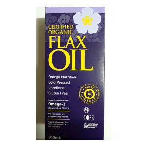 Flax Oil - Organic (500ml)