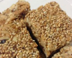 Pasteli - Fruit and Nut Sesame Bars