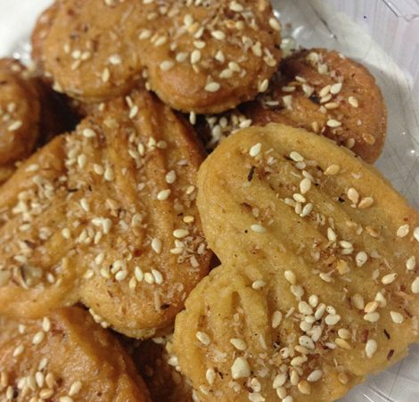 Greek Honey and Nut Biscuits