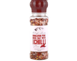 Grinder - Himalayan Pink Rock Salt with Crushed Chilli (160g)