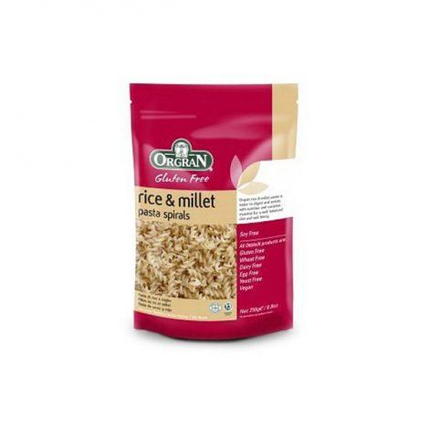 Orgran - Rice and Millet Spirals (250g)