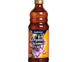 Sesame Oil - Organic; Melrose