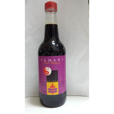 Soy Sauce - Salt Reduced Tamari Wheat Free Natural (500g)