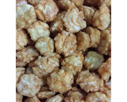 spicy rice crackers